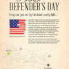 2014 - Defender's Day (back)
